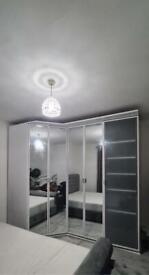 5 Door Ikea Wardrobe With Mirror