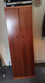 Lovely compact solid wood wardrobe - quality item