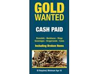 All Gold wanted!! cash waiting