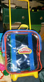 Play Doh Trolly and Play Doh Items