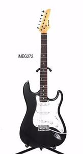 Electric Guitar Black iMEG272 with Tremolo