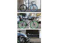 SALE free to customize single speed road bike track bike racing fixie fixed gear bicycle l