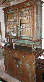 Antique east europian kitchen cabinet