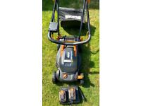 Worx Cordless Battery Powered Lawn Mower