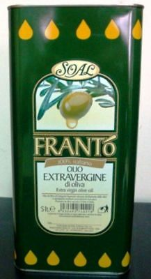 "OLIO EXTRAVERGINE DI OLIVA D'OLIVA"" FRANTO' "" 5 LT"