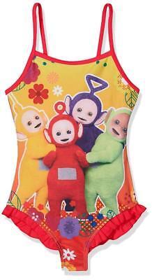 Girls Pink Teletubbies Swimsuit Swimming Costume  Swim Suit Beach Wear Age 2-6 (Teletubbies Suit)