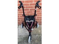MOBILTY THREE WHEEL WALKER ONLY USED 5 TIMES NICE CONDITION SEE ALL NINE PHOTOS