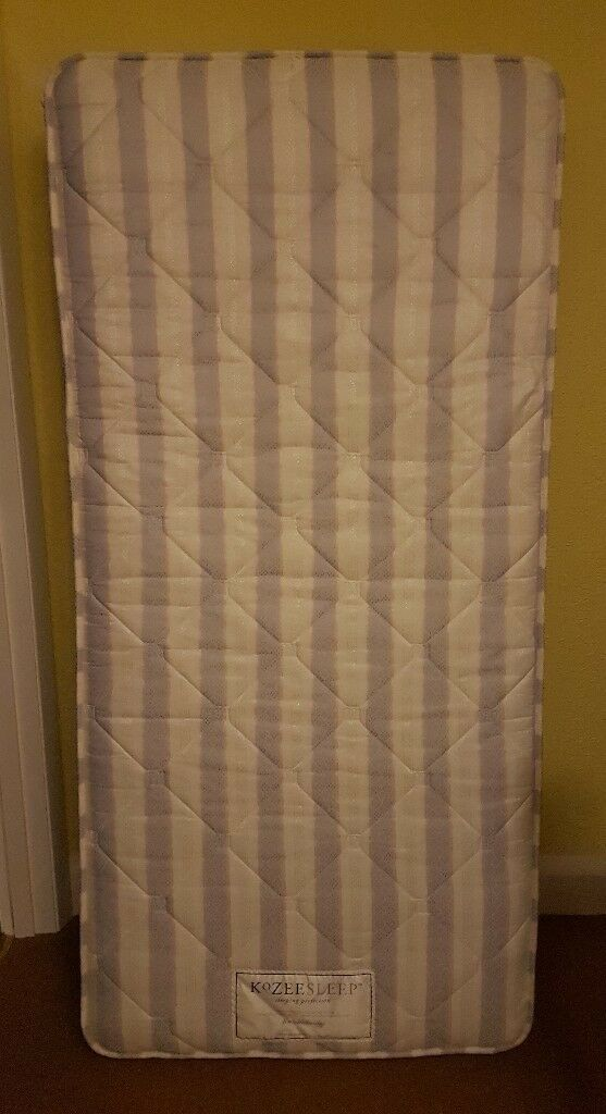 single 3' mattress very good condition, fire safety label, no staining