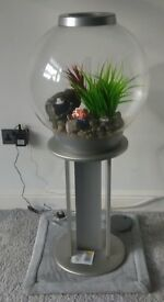 60 litre biorb fish tank with stand, filter, pump, heater, accessories. Full set up. RRP £300