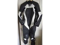 Frank Thomas Leather One Piece Motorcycle Suit UK 42