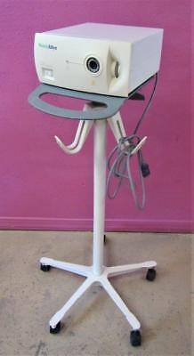 Welch Allyn Cogent Light Cl300 Surgical Headlight 300w Light Source Stand