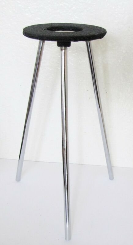 "Lab Bunsen Burner Tripod Cast Iron Support Stand 9"" New"