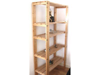 Wooden Shelving Unit for living room or bedroom