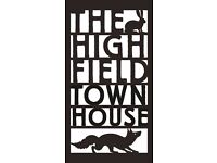 Reservations Co-ordinator - The High Field Town House - Birmingham
