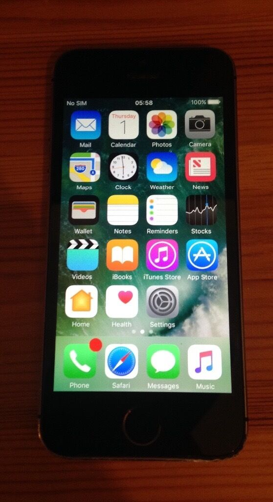 iPhone 5s 16GB Space Grey All networksin Alum Rock, West MidlandsGumtree - IPhone 5s 16 GB Space Grey unlocked going for cheap item over All condition great has minor scratches but no damage. No offers !