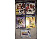 4 PS2 Games And A Demo Disc Bundle