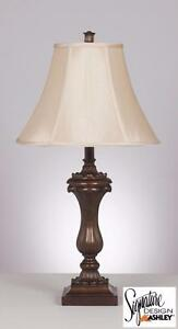 Mabel Antique Gold Lamp!