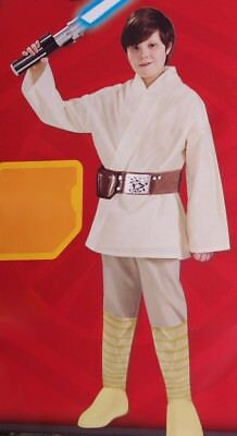 Boys Kids LUKE SKYWALKER Jedi Force Halloween Purim Costume S M L 4 6 8 12  NEW](Kids Jedi Costume)