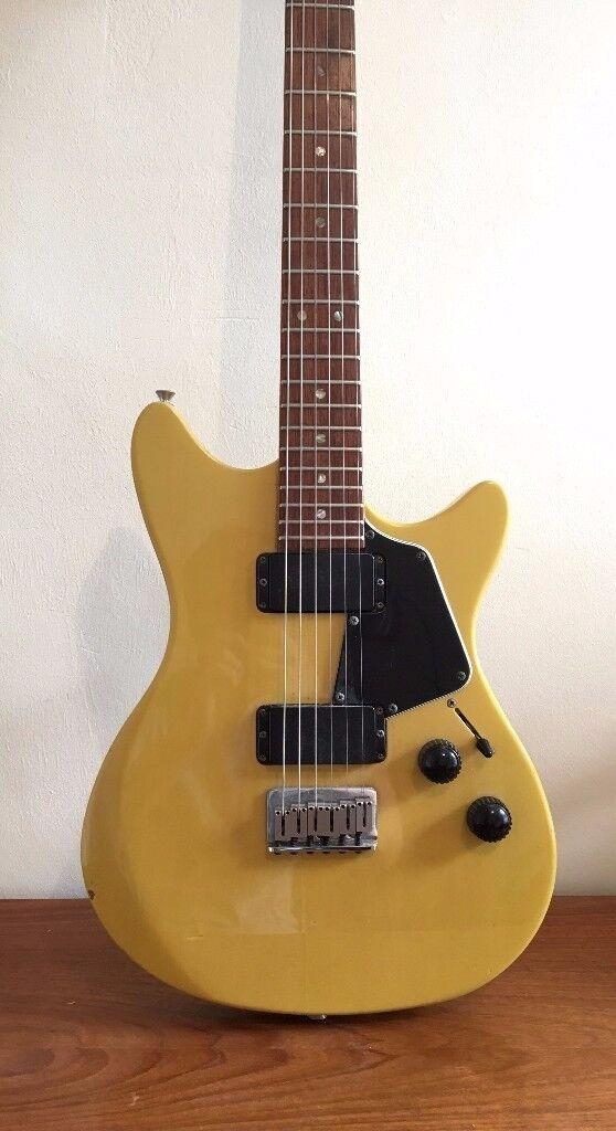 Fender Heartfield RR58 Yellow Electric Guitar Vintage FujiGen