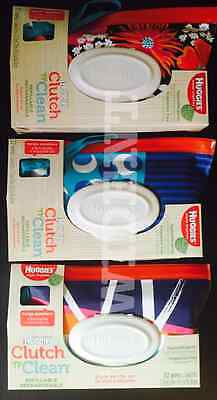 Huggies Natural Care Clutch 'n' Clean 32 wipes/pack (PACK OF 3)