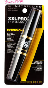 MAYBELLINE XXL PRO By Eye Studio Extensions Mascara #541 VERY BLACK