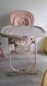 Chico 3 in 1 high chair