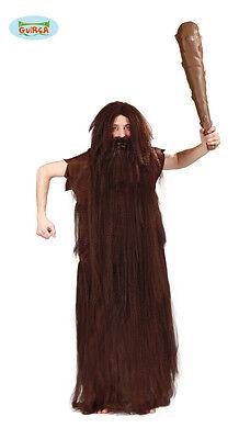 GUIRCA Costume vestito cavernicolo primitivo carnevale uomo adulto 110 80553