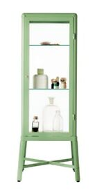 Ikea Fabrikor Display Cabinet - Green