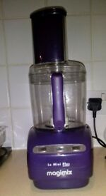 Magimix Le Mini Plus Food Processor, Purple
