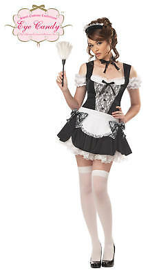Sexy French Kiss Maid Adult Costume