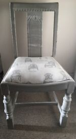 X4 Grey Dining Chairs