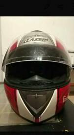 MOTORBIKE HELMET LAZER FIBER D1 MK-U