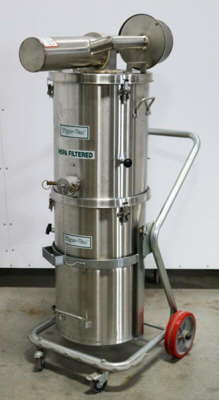 Tiger-Vac SS-15 TC MRSCFS Vacuum Cleaner for Hazardous Locations