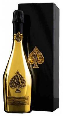 Armand de Brignac Brut Gold Ace of Spades One 750ml Bottle Champagne