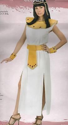 CLEOPATRA COSTUME Adult Women 4-14 Halloween Queen Sexy Gem Egyptian Pharaoh NEW
