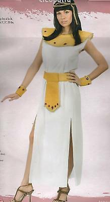 CLEOPATRA COSTUME Adult Women 4-14 Halloween Queen Sexy Gem Egyptian Pharaoh NEW