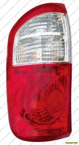 Tail Light Driver Side Double Cab White/Red Toyota Tundra 2000-2006