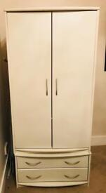 Small two doorwardrobe