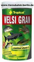 Welsi Gran Welsfutter - Tropical 1 L Dose - NEU 12,62 € Berlin - Marzahn Vorschau