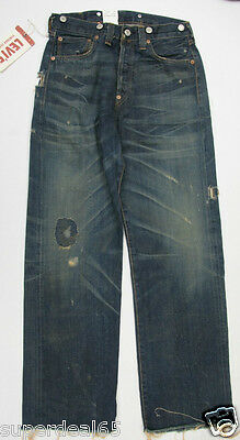 LVC Levis  Hacienda Vault 1 1937 501 Jeans 501370218  Made In USA Levi's Selvage