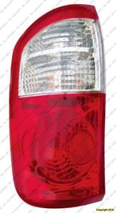 Tail Lamp Driver Side Double Cab White/Red Toyota Tundra 2000-2006
