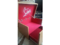 New Designer Louboutin Large Storage Shoe Box Hand Made