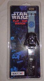 1990's watches £8 each ET, Star Wars, Space Precinct,