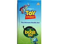 Walt Disney Pixar Toy Story and A Bugs Life - The Ultimate Double Act [VHS Tape] for sale  Whiteley, Hampshire