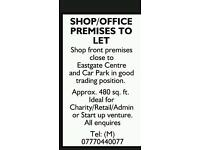 Shop/office to let