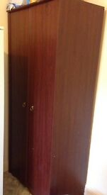 Spacious wardrobe, lovely condition