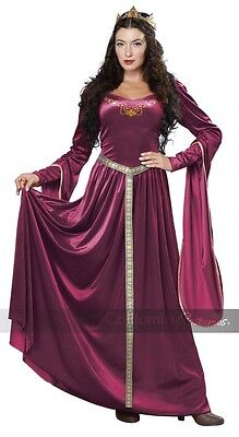 Lady Guinevere - Adult Costume - Medieval / Game of - Lady Guinevere