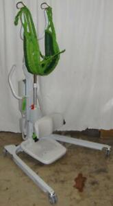 Liko Sabina II EE Standing Rising Sit to Stand Patient Resident Lift 440lbs w/ sling and NEW battery