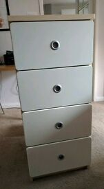 Tall chest of draws