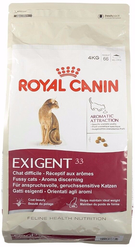 Royal Canin Exigent Aromatic Attraction Dry Mix Cat Food 4 kg Bag